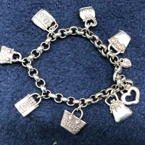 Brighton silver purse bracelet